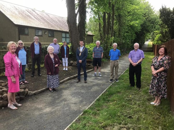Mayor Visits Gracehill Bishops Walk