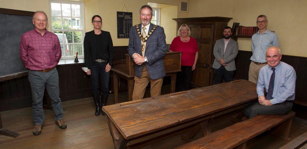 World Heritage team visit Gracehill2